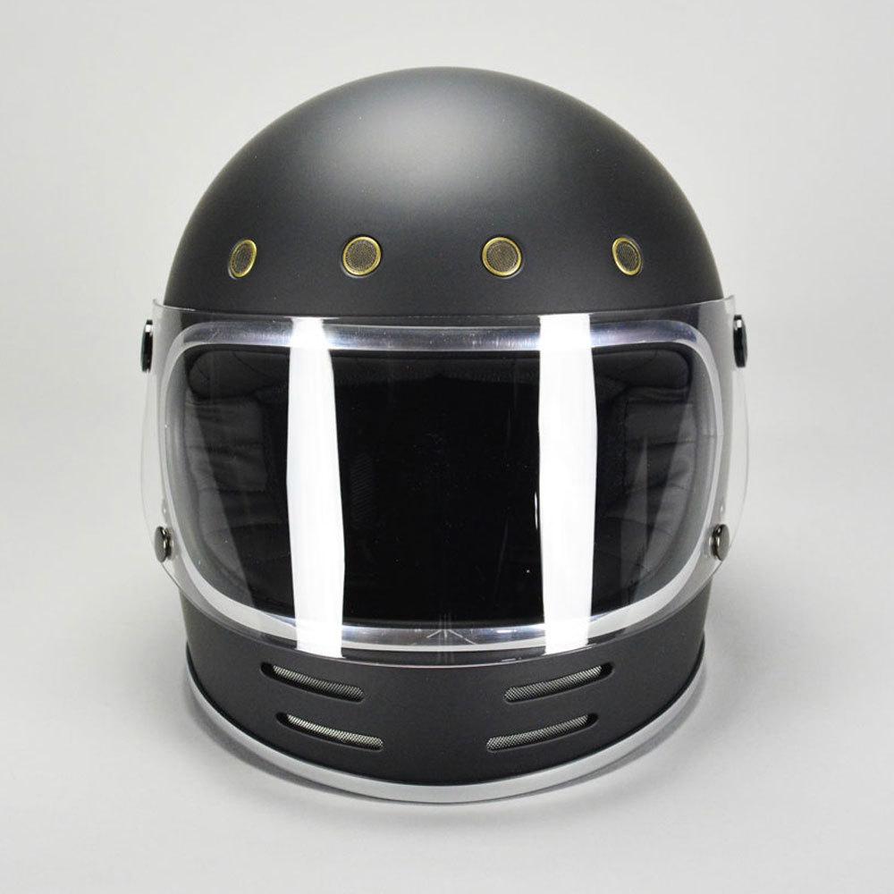 GT751 ヘルメット 族ヘル マットブラック ノスタルジック GT-751 フルフェイス 今だけ!!送料無料!!_画像2