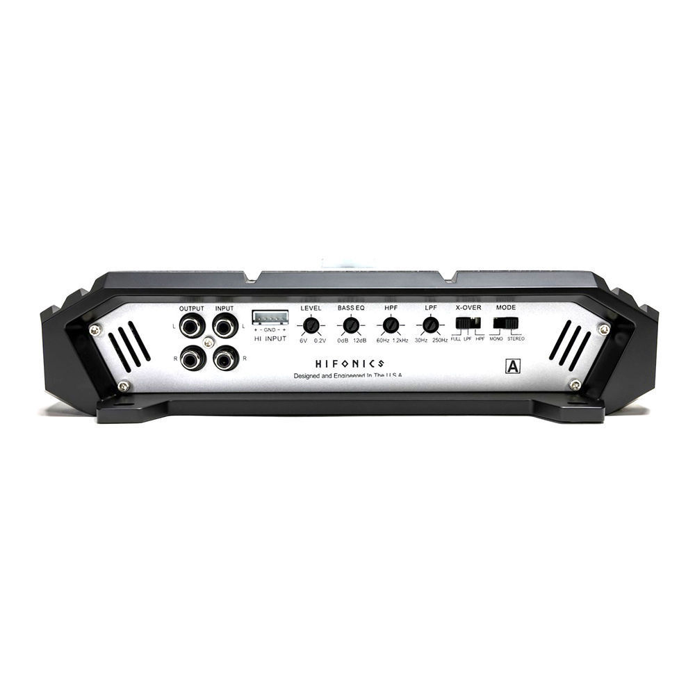 ■USA Audio■ハイフォニックスHIFONICS ZXX-500.2 ●ゼウス(Zeus)シリーズ 2chパワーアンプ ●保証付●税込_画像4