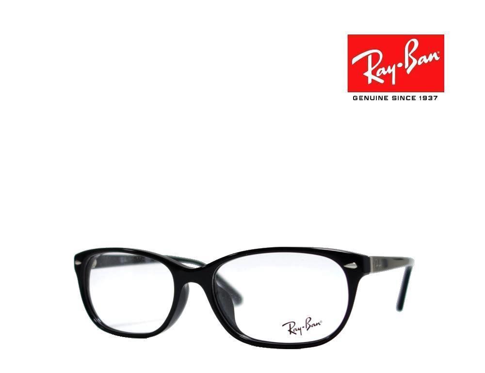 送料無料【Ray-Ban】 レイバン メガネフレーム RX5208D 2000 ブラック アジアンフィット 国内正規品  _画像1