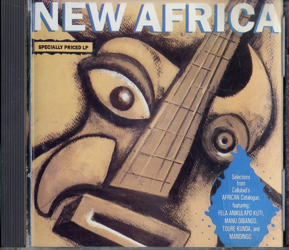 CD☆V.A. / Mandingo Featuring Foday Musa Suso With Herbie Hancock / New Africa / CELCD6110_2512-219