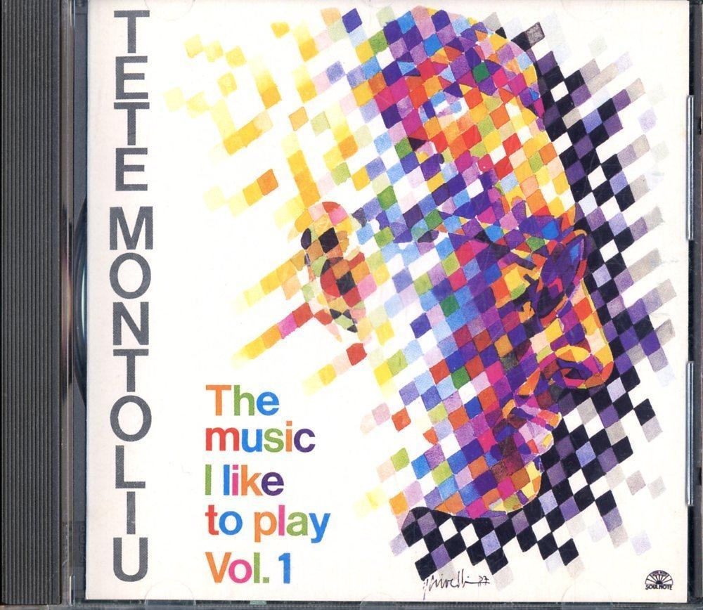 CD☆Tete Montoliu / The Music I Like To Play - Vol. 1 / SN 21180-2_2512-216