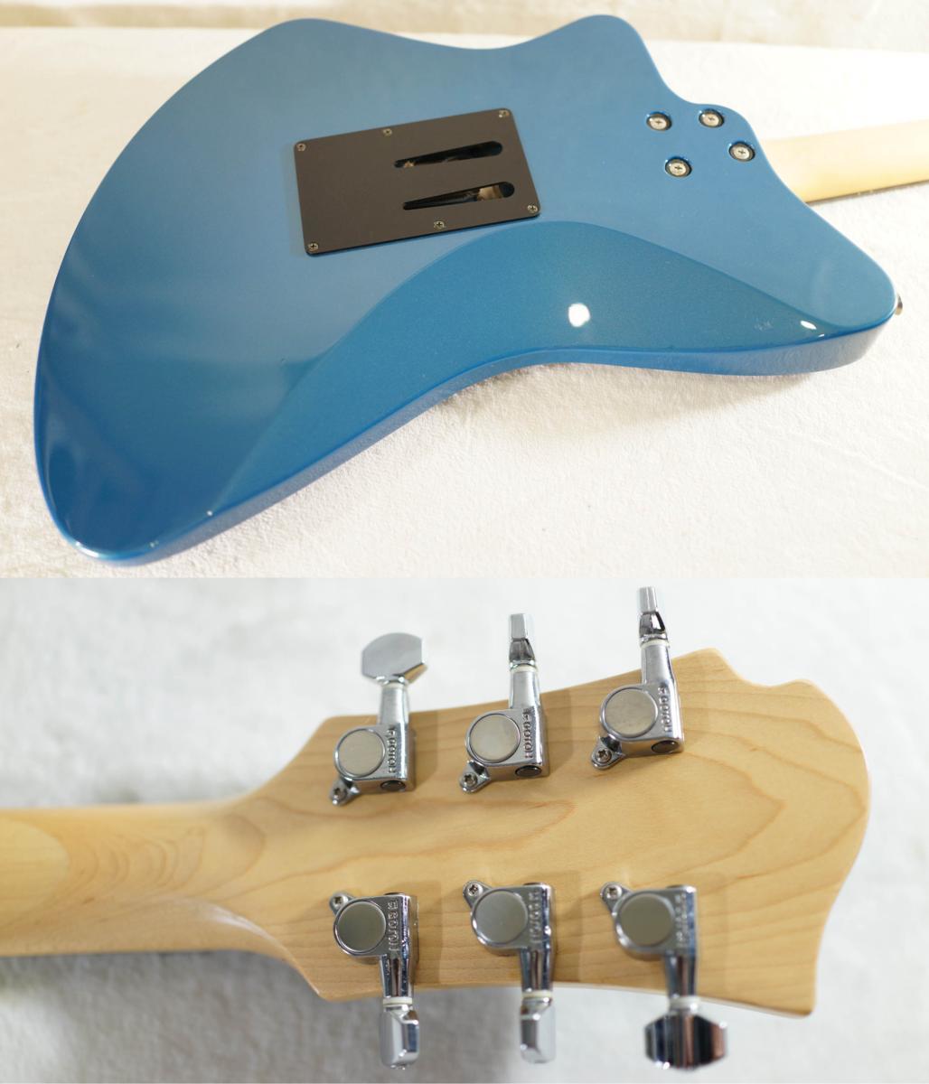 ★BURNY★H-65 BLUE シャチギター HIDE/HOTEI レアモデル★_画像2