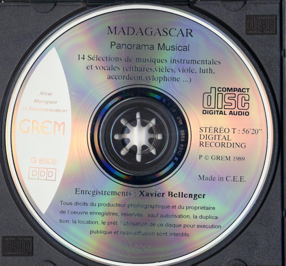CD☆V.A. / Madagascar - Panorama Musical / G 8908_画像3