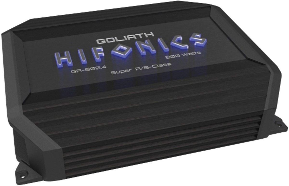 ■USA Audio■ハイフォニックスHIFONICS GA-800.4 ゴリアテ(Goliath)シリーズ4chパワーアンプ ●保証付●税込_画像1
