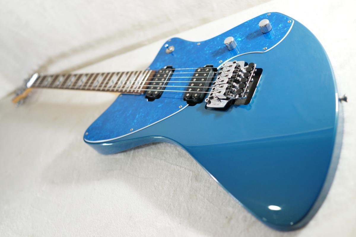 ★BURNY★H-65 BLUE シャチギター HIDE/HOTEI レアモデル★_画像4
