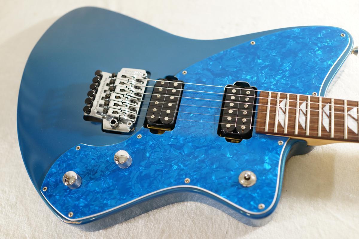 ★BURNY★H-65 BLUE シャチギター HIDE/HOTEI レアモデル★_画像5
