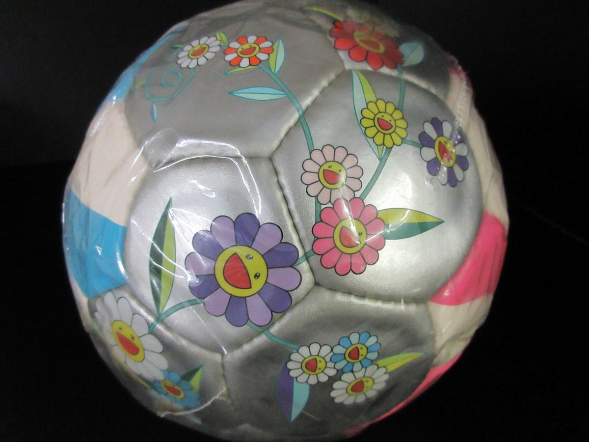 未使用 モルテン molten 村上 隆デザイン サッカーボール 2002年 限定モデル フラワーボール 5号 ルイヴィトン (44202_画像4