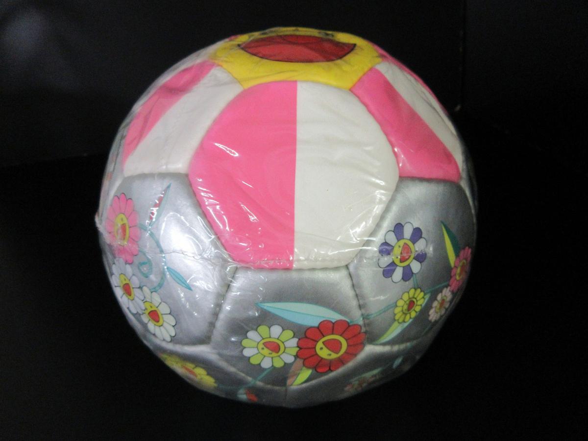未使用 モルテン molten 村上 隆デザイン サッカーボール 2002年 限定モデル フラワーボール 5号 ルイヴィトン (44202_画像7
