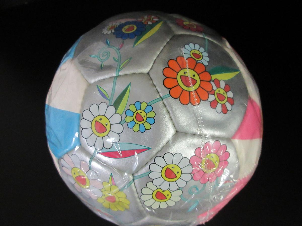 未使用 モルテン molten 村上 隆デザイン サッカーボール 2002年 限定モデル フラワーボール 5号 ルイヴィトン (44202_画像5