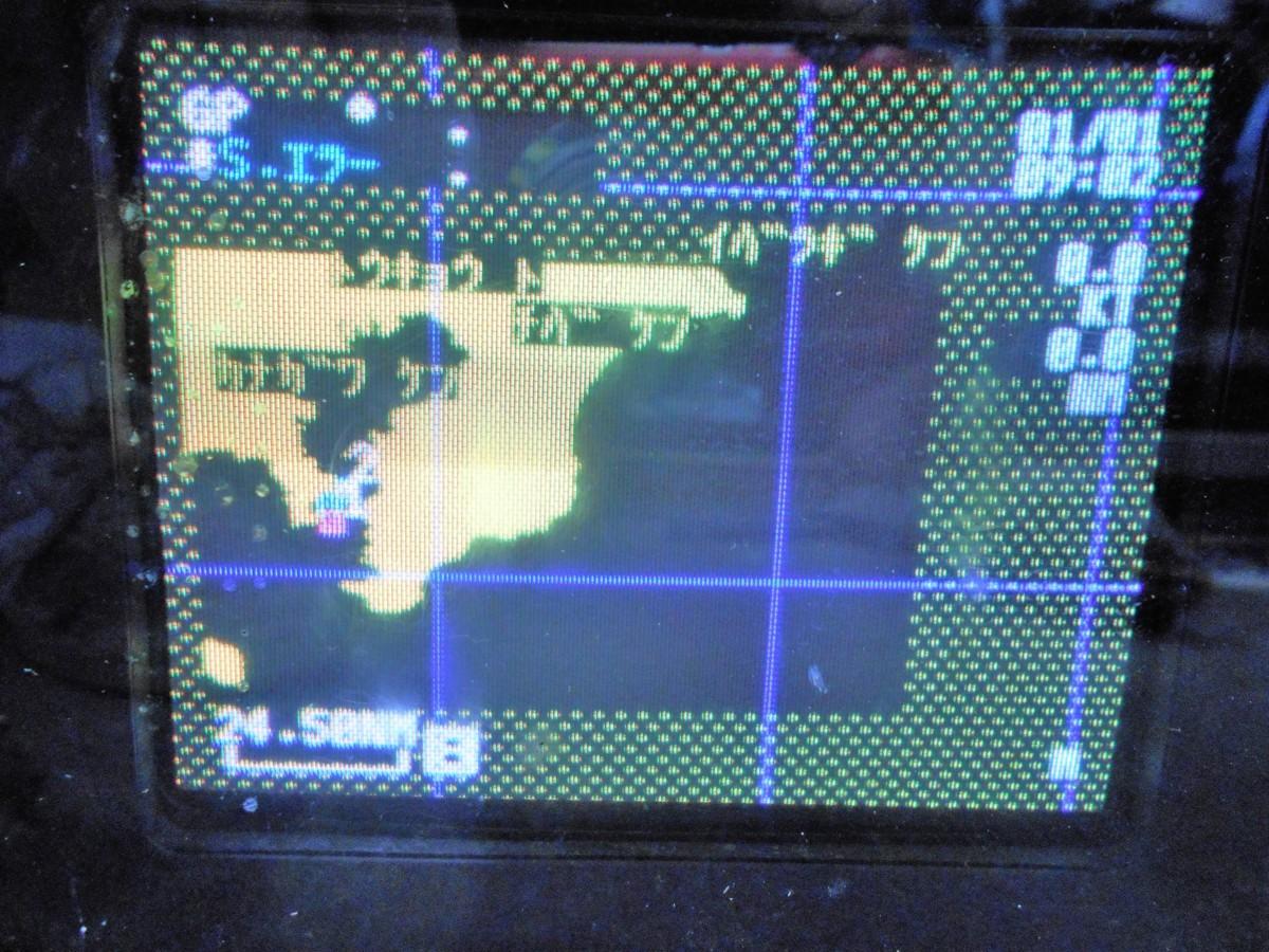 18-266 iCOM (アイコム㈱) GPSプロッター&魚群探知機 FP-601G 6インチ 液晶カラーモニター 中古品_画像2
