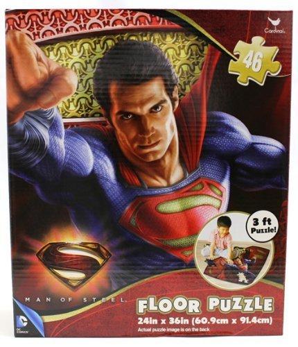 DCコミック スーパーマン マン オブ スティール フロアパズル 46ピース_画像1