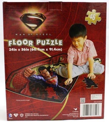 DCコミック スーパーマン マン オブ スティール フロアパズル 46ピース_画像2