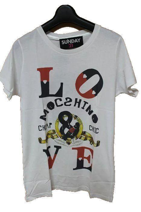 SUNDAY21 レディース半袖Tシャツ ホワイト XSサイズ イタリア製 新品_画像1