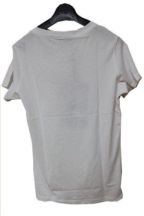 SUNDAY21 レディース半袖Tシャツ ホワイト XSサイズ イタリア製 新品_画像4