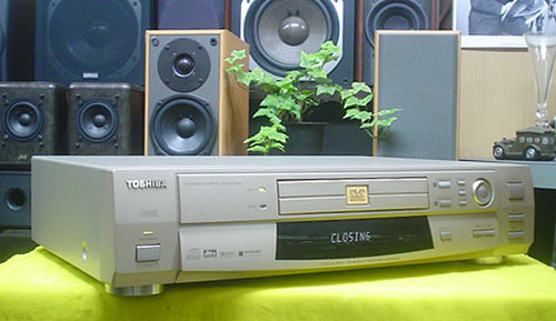 TOSHIBA/DVD VIDEO/AUDIO PLAYER『SD-5000』(MADE IN JAPAN)JUNK_画像1