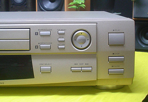 TOSHIBA/DVD VIDEO/AUDIO PLAYER『SD-5000』(MADE IN JAPAN)JUNK_画像7