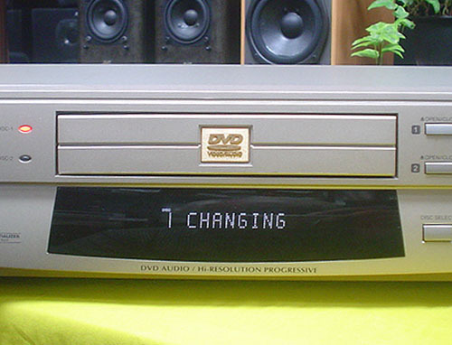 TOSHIBA/DVD VIDEO/AUDIO PLAYER『SD-5000』(MADE IN JAPAN)JUNK_画像6