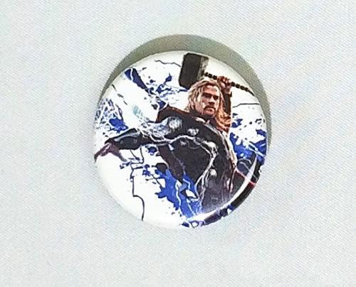 MARVEL (マーベル) アベンジャーズ マイティ・ソー The Mighty Thor 缶バッジ(ピンタイプ)☆_画像1