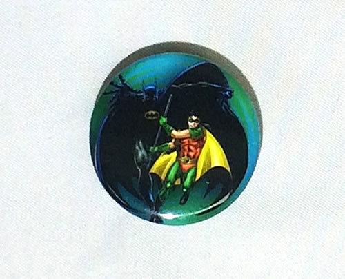 DCコミック バットマンとロビン Batman Robin 缶バッジ(ピンタイプ) ☆_画像1
