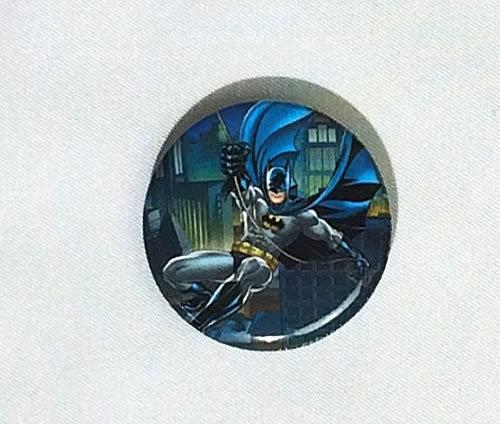 DCコミック バットマン Batman 缶バッジ(ピンタイプ) ブルー系☆_画像1