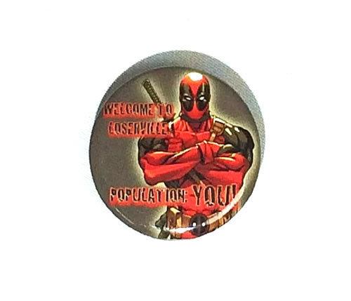 MARVEL(マーベル) デッドプール Deadpool 缶バッジ(ピンタイプ)☆_画像1