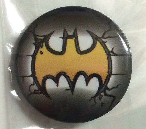 DCコミック バットマン Batman 缶バッジ(ピンタイプ) ☆_画像1