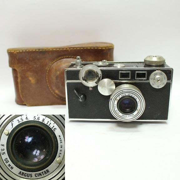 ARGUS アルガス CINTAR F3.5 50mm カメラ 1001Q5r_画像1