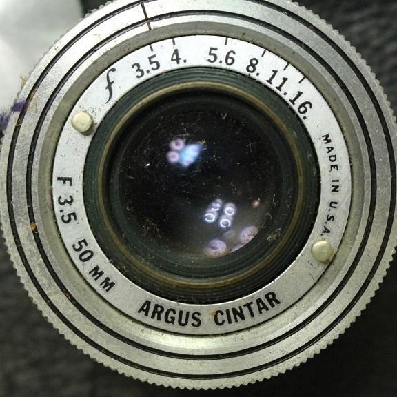 ARGUS アルガス CINTAR F3.5 50mm カメラ 1001Q5r_画像5