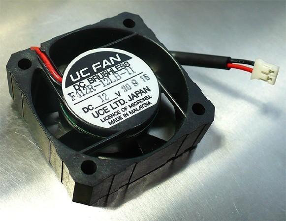UCE F412R-12LB-11 (FAN DC12V 0.04A W40×H40×D12 [mm]) [D]