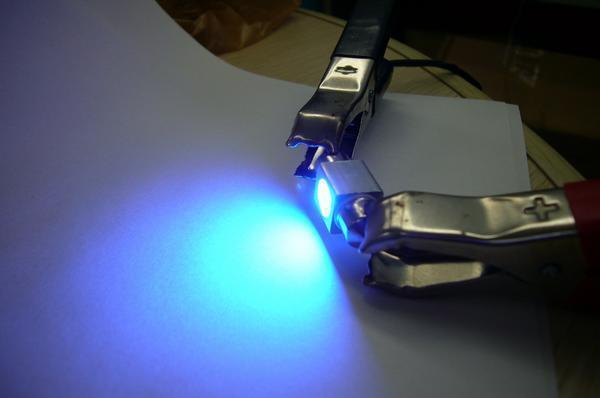 限定2/メール便/ブルー SMD 汎用 LED ルーム球/T10×31mm/青 2個/A④_画像3