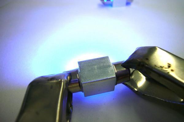限定2/メール便/ブルー SMD 汎用 LED ルーム球/T10×31mm/青 2個/A④_画像2