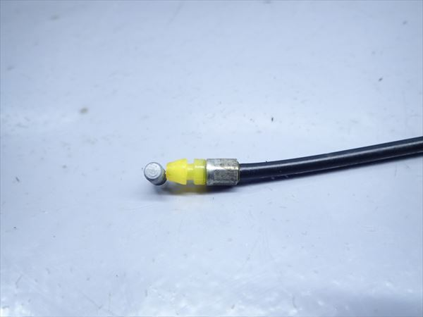 β0925 スズキ ストリートマジック TR50 (H9年式) 純正 シートロックワイヤー ケーブル ほつれ無し 長さ約20cm_画像7