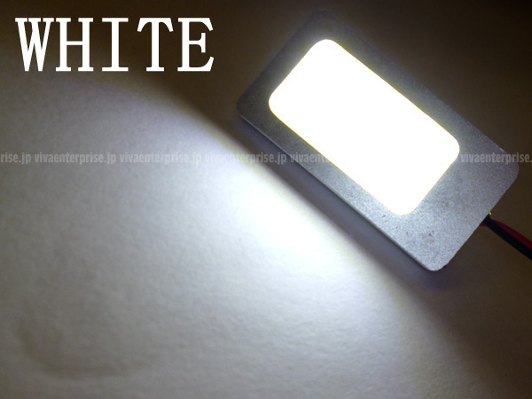 d①★ムラなし 面発光 COB T10×28mm 汎用 ルームランプ/白 1個 (257) メール便_画像2