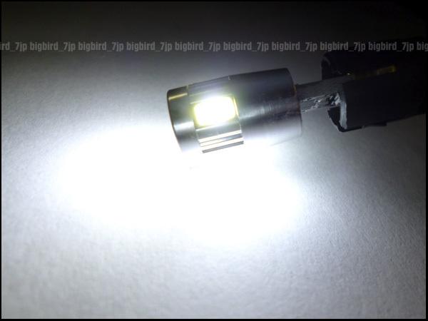 メール便 ベンツ BMWに LED 電球 12/24V 抵抗内蔵 T10 ホワイト 外車 白 2個 (250)/g20Д_画像2