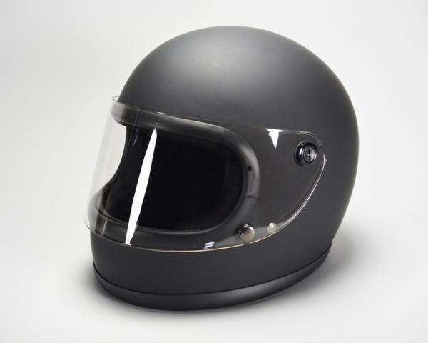 GT750 ヘルメット 族ヘル マットブラック ノスタルジック GT-750 フルフェイス 今だけ!!送料無料!!_画像2