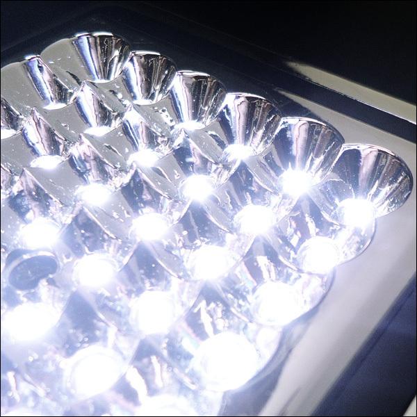 爆白 LED42球 12V車載用 カー シャンデリア ホワイト ドア連動式 後付 汎用 室内灯 ルームライト デコトラ 照明 ドレスアップ [D]/b21К_画像10