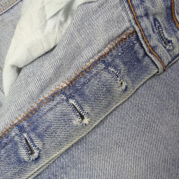 リーバイス ジーンズ 501xx 米国製 USA製 1993年製造 ユーズド デニムパンツ アメリカ製 古着 ジーパン Levi's サイズW36 裾上げ無料_画像9