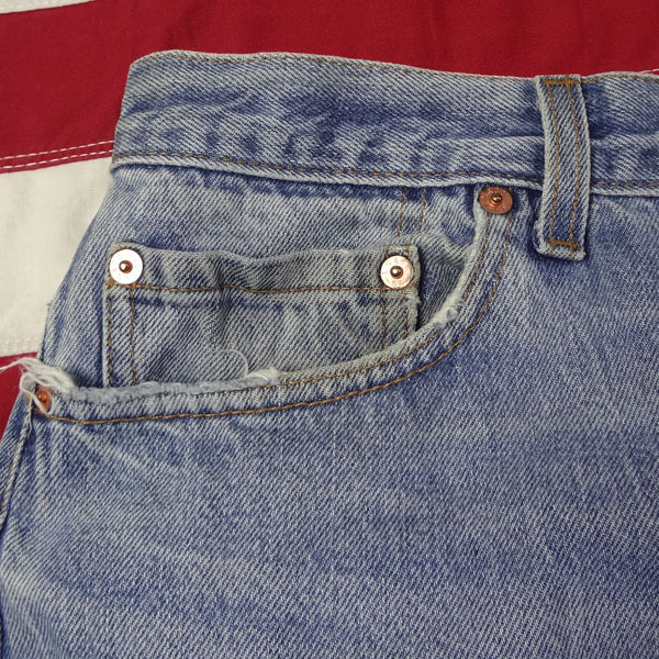 リーバイス ジーンズ 501xx 米国製 USA製 1993年製造 ユーズド デニムパンツ アメリカ製 古着 ジーパン Levi's サイズW36 裾上げ無料_画像10