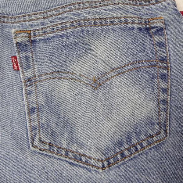 リーバイス ジーンズ 501xx 米国製 USA製 1993年製造 ユーズド デニムパンツ アメリカ製 古着 ジーパン Levi's サイズW36 裾上げ無料_画像7