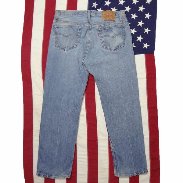 リーバイス ジーンズ 501xx 米国製 USA製 1993年製造 ユーズド デニムパンツ アメリカ製 古着 ジーパン Levi's サイズW36 裾上げ無料_画像2