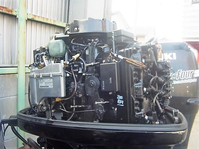 F2-366 MARCURY マーキュリー 2スト 200馬力船外機 インジェクション(EFI)L足 1999年製 最終モデル 淡水で使用していた上物エン_画像2