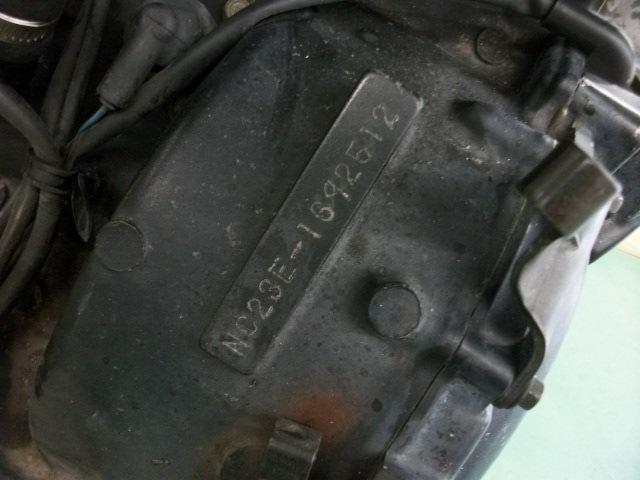 【BST】★ホンダ CB400SF NC31 教習車 純正 エンジン NC23E 実働_画像10