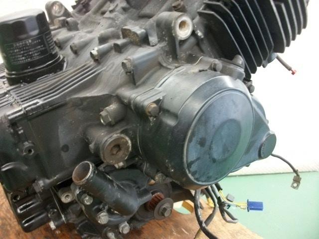 【BST】★ホンダ CB400SF NC31 教習車 純正 エンジン NC23E 実働_画像2