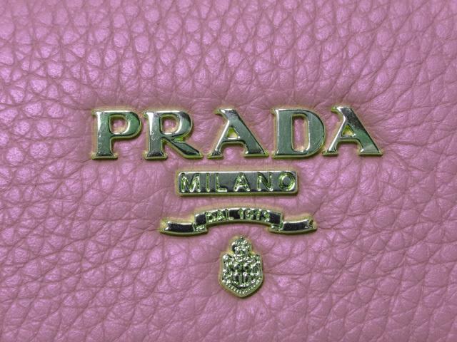 PRADA プラダ 6連キーケース ピンク レザー 1PG222 H213 中古_画像7