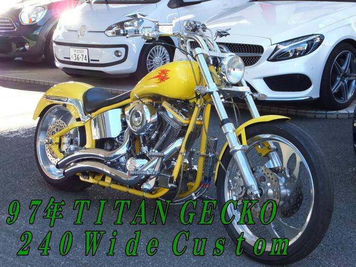 「陸送&名変無料 クレジット2.9%~TITAN GECKO 240 Wide Custom 10572Km」の画像1