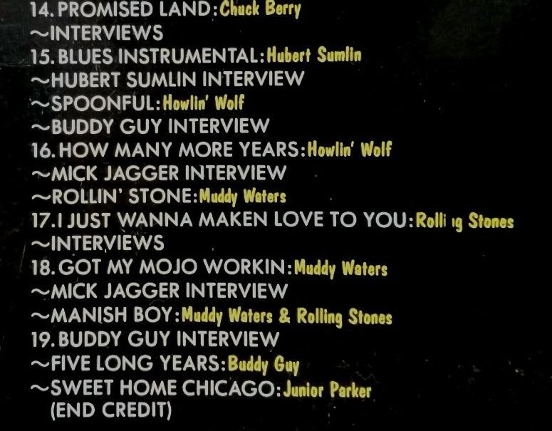 LD SWEET HOME CHICAGO STORY OF CHESS RECORDS★WILLIE DIXON / MUDDY WATERS JOHN LEE HOOKER CHUCK BERRY 他★レーザーディスク[1072RP_画像5