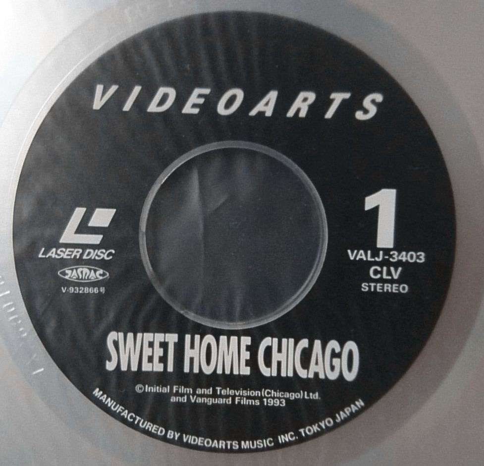 LD SWEET HOME CHICAGO STORY OF CHESS RECORDS★WILLIE DIXON / MUDDY WATERS JOHN LEE HOOKER CHUCK BERRY 他★レーザーディスク[1072RP_画像6