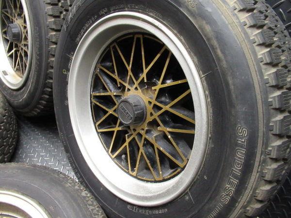 ●FOCUS ESPRIT フォーカス エスプリ 14インチ 6.5J +10 114.3 4H ホイール 4本 旧車 AE86_画像4