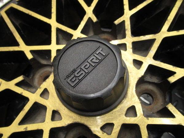 ●FOCUS ESPRIT フォーカス エスプリ 14インチ 6.5J +10 114.3 4H ホイール 4本 旧車 AE86_画像5