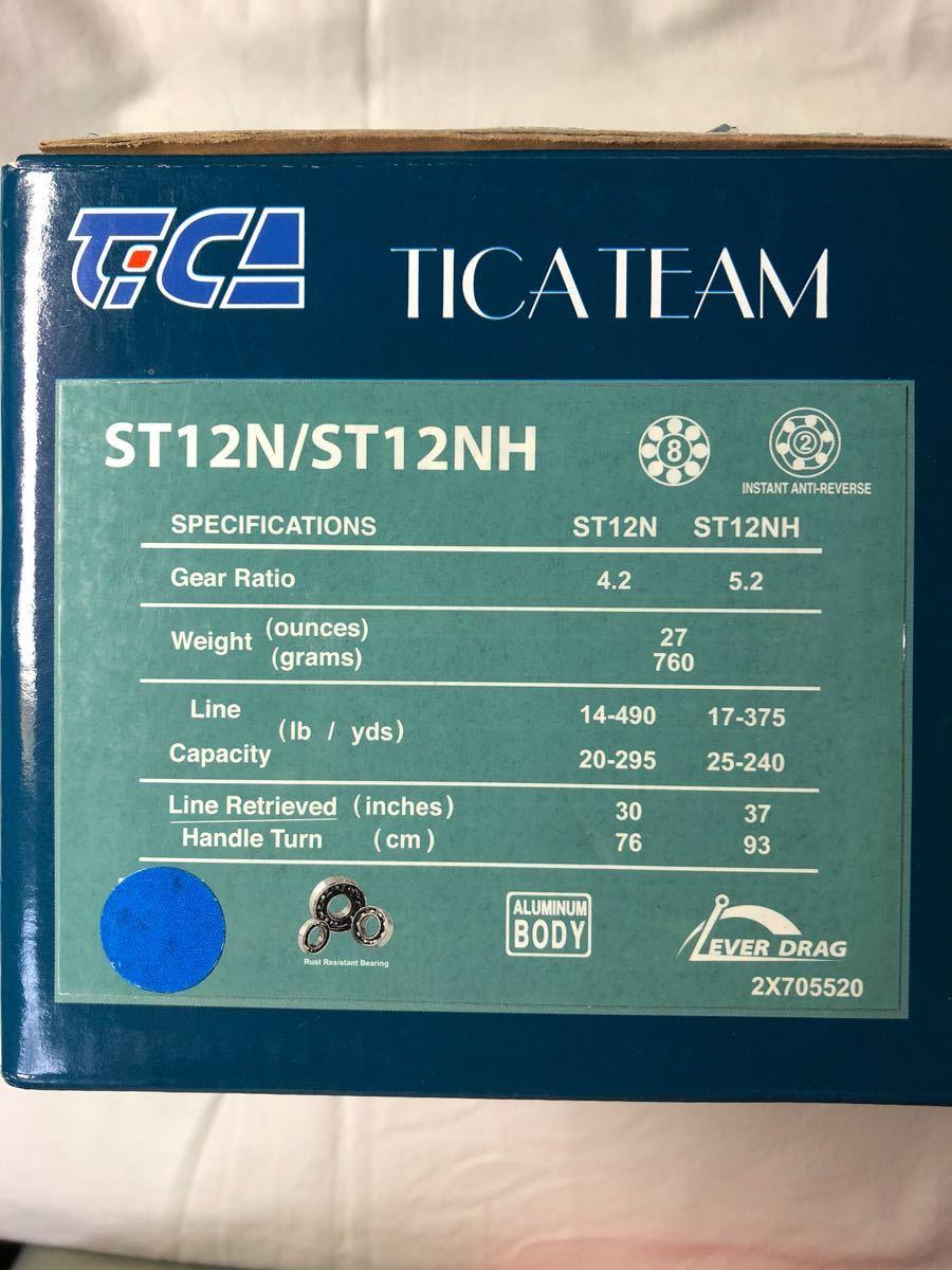 TICA TEAM ST12N 中古美品_画像10